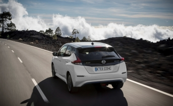 The new Nissan LEAF: the world's best-selling zero-emissions electric vehicle now most advanced and accessible on the planet
