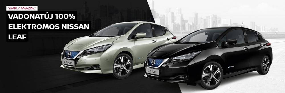 Új Nissan Leaf